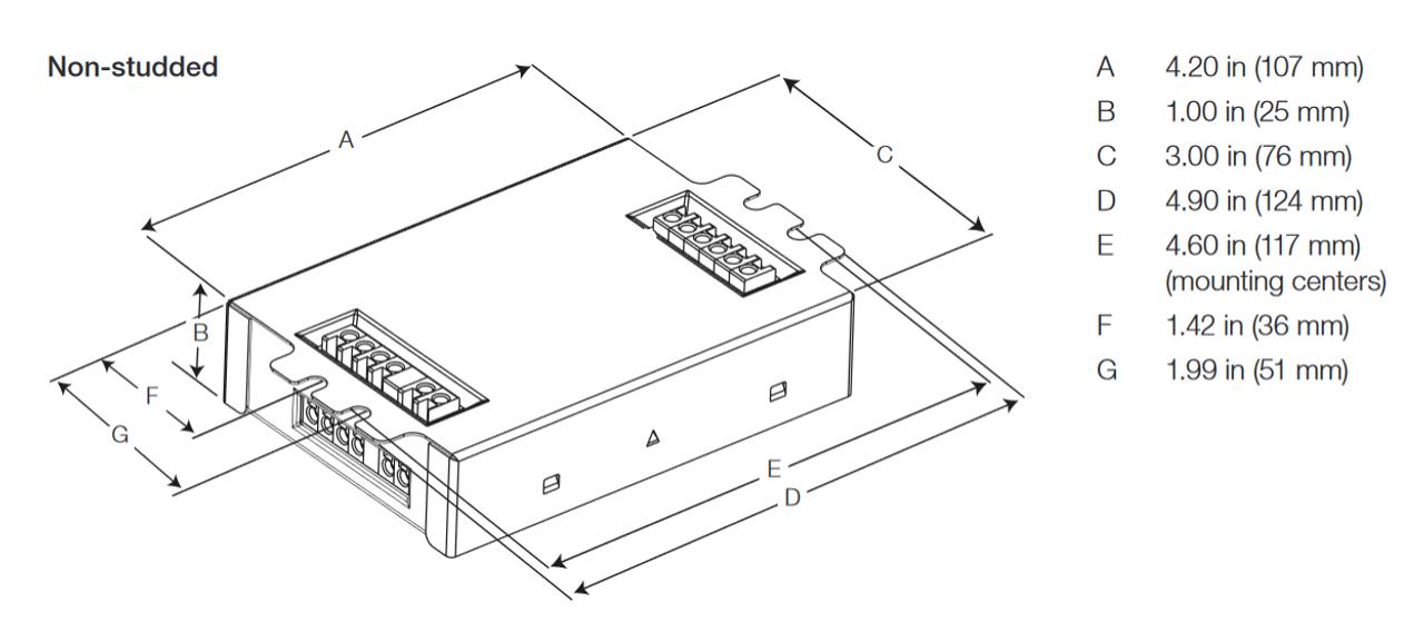 EC3DT442KU2 Lutron EcoSystem® CFL Dimming Ballast