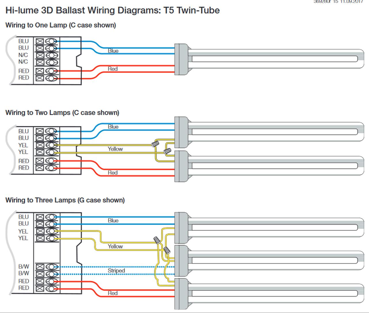 H3DT540GU210 (EC3T540GU210) Lutron Hi-Lume 3D Dimming Ballast on