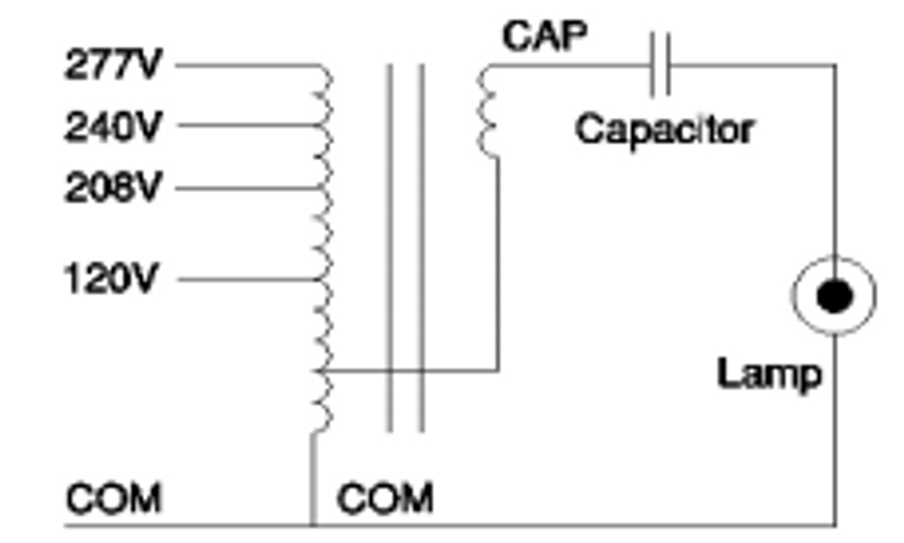 CMH0175H04932 M Robertson Electromagnetic M57 MH Ballast Kit