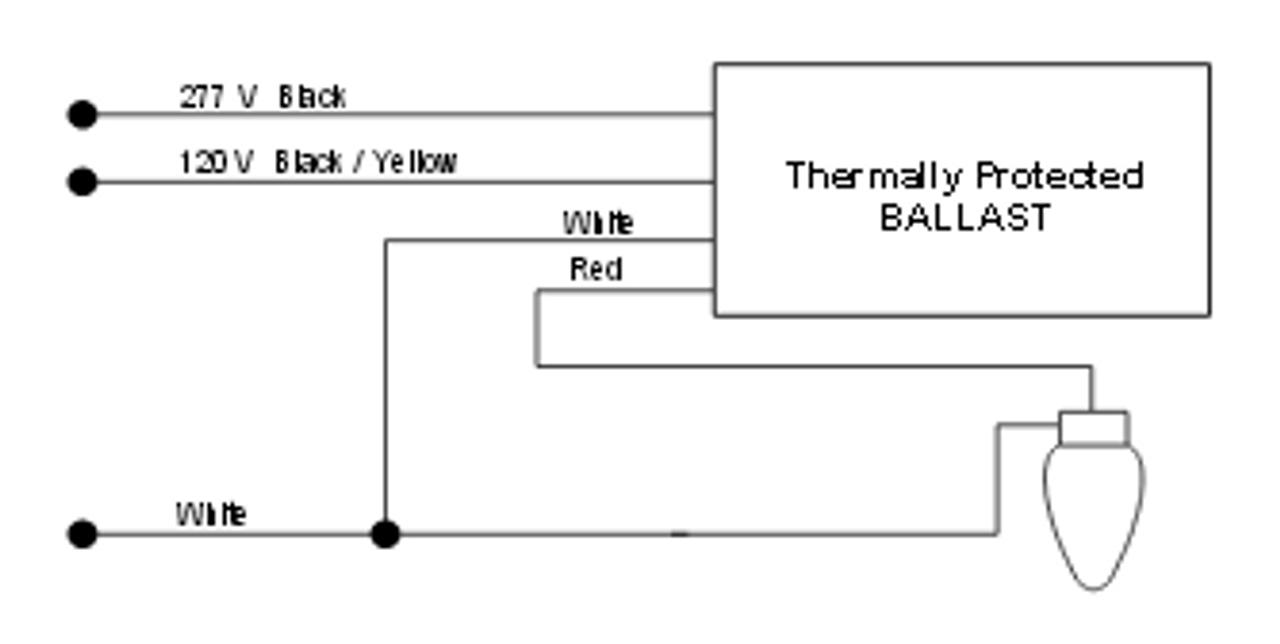 1110 246 C Tc Universal Hid Metal Halide F Can 250w Ballast