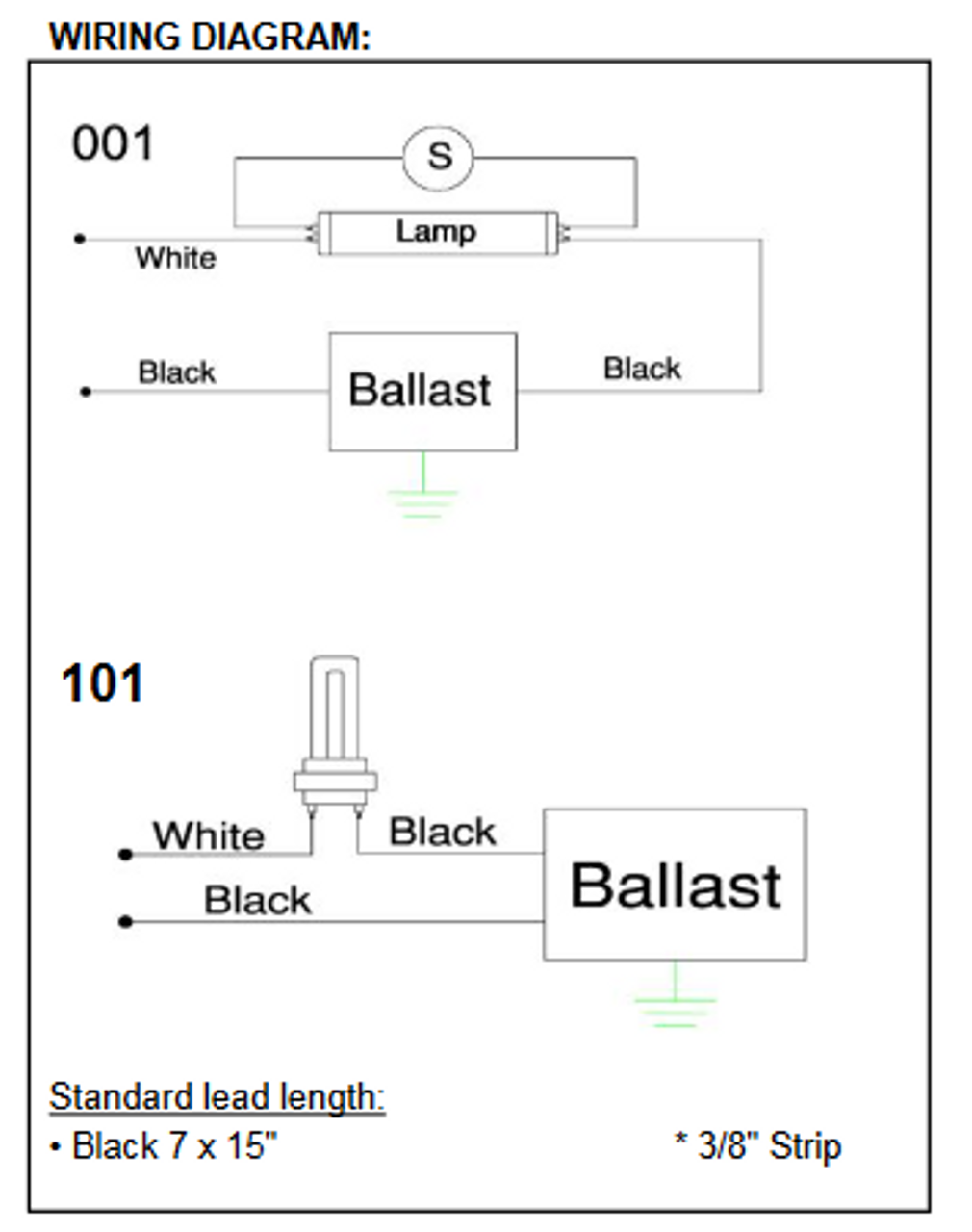SP2PW (SP2P) Robertson Fluorescent Replacet Ballasts