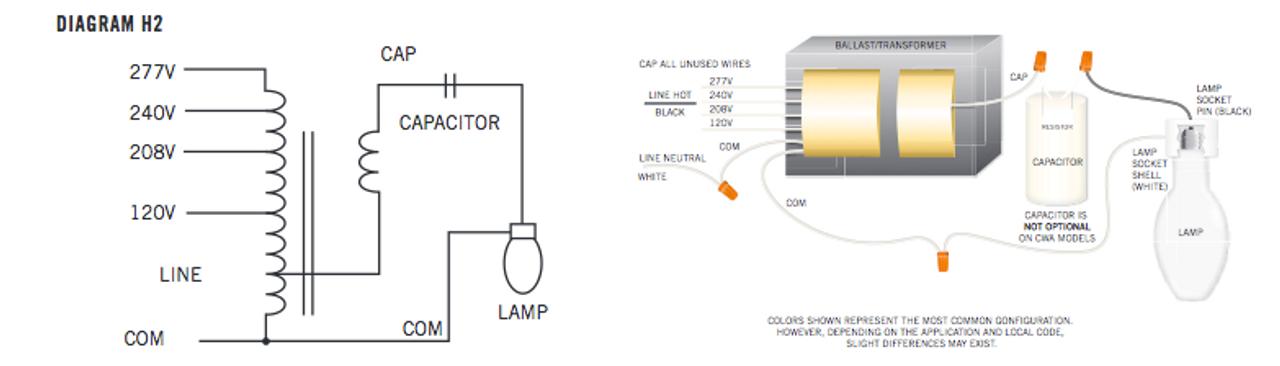 Amazing Mh 175A Q Kit Keystone Metal Halide Ballast Kit Wiring 101 Eattedownsetwise Assnl