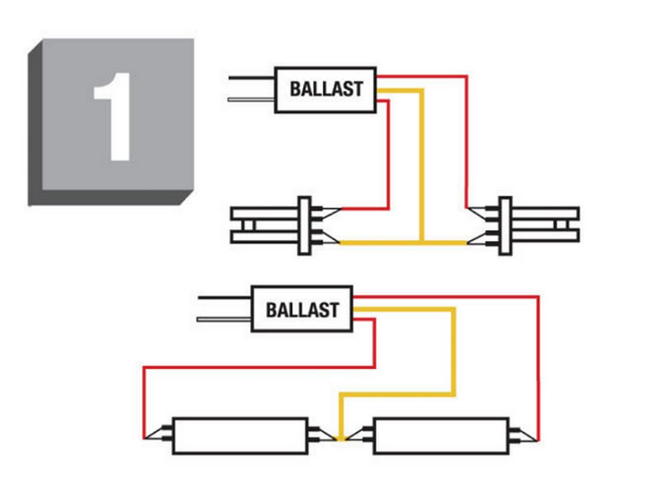 WH4-120-L Fulham Workhorse Ballast | Workhorse 2 Ballast Wiring Diagram |  | BallastShop.com