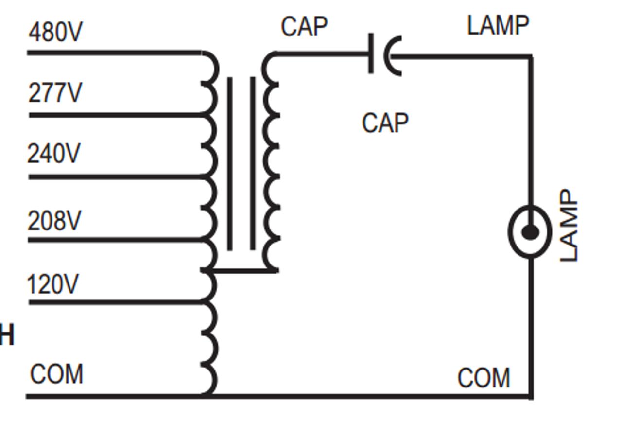 240v ballast wiring diagram m1000 super5 kit sylvania 47427 metal halide ballast kit  sylvania 47427 metal halide ballast kit