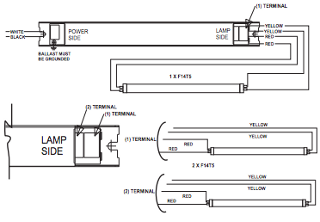 T5 Ballast Wiring Diagram