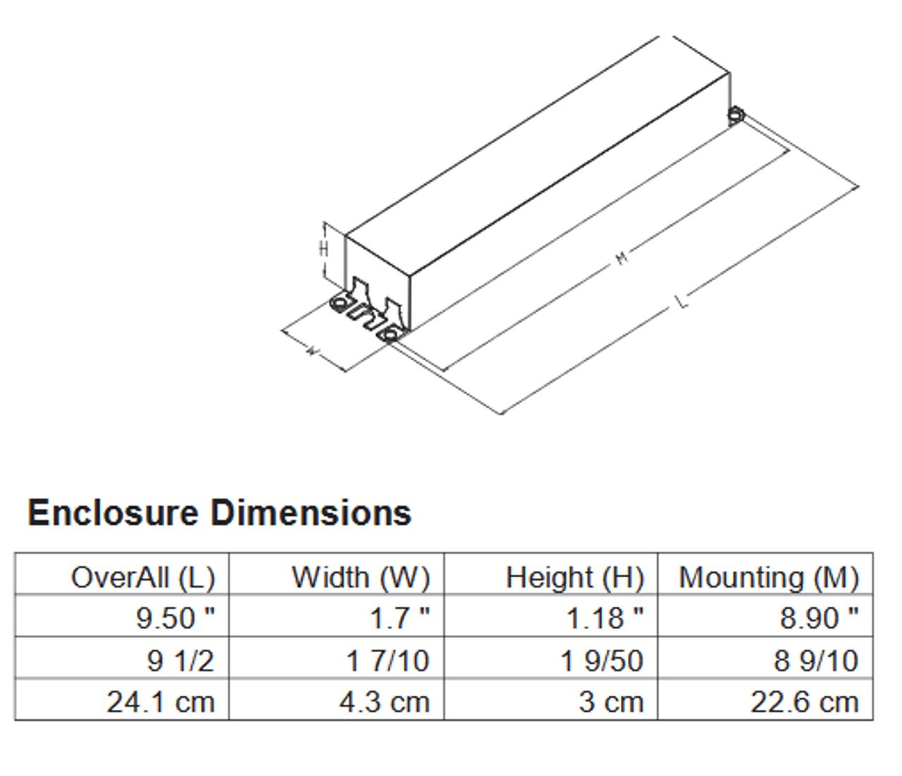 Philips Advance Optanium IOP-4P32-HL-SC 120v-277v Instant Start Ballast