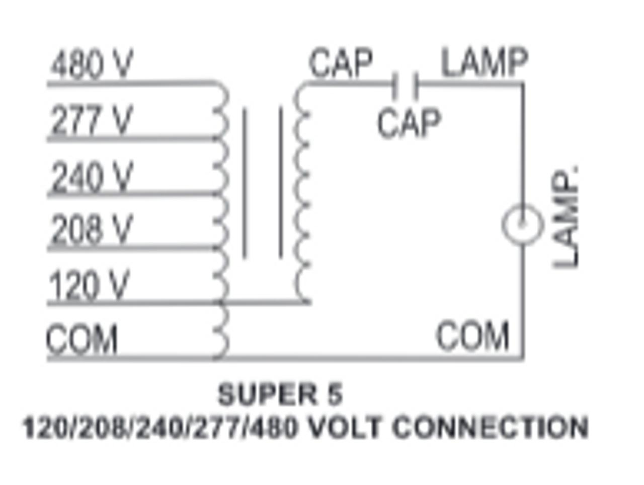480v Ballast Wiring Diagram