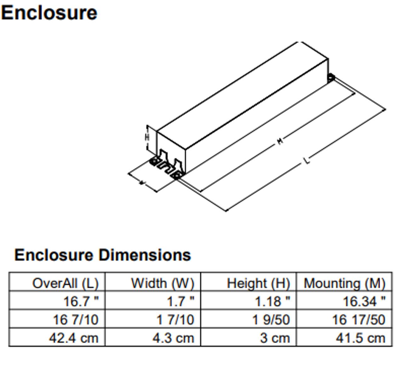 IZT-4PSP32-G Advance MARK 7 Electronic Dimming Ballast   Advance Mark 7 Dimming Ballast Wiring Diagram      BallastShop.com