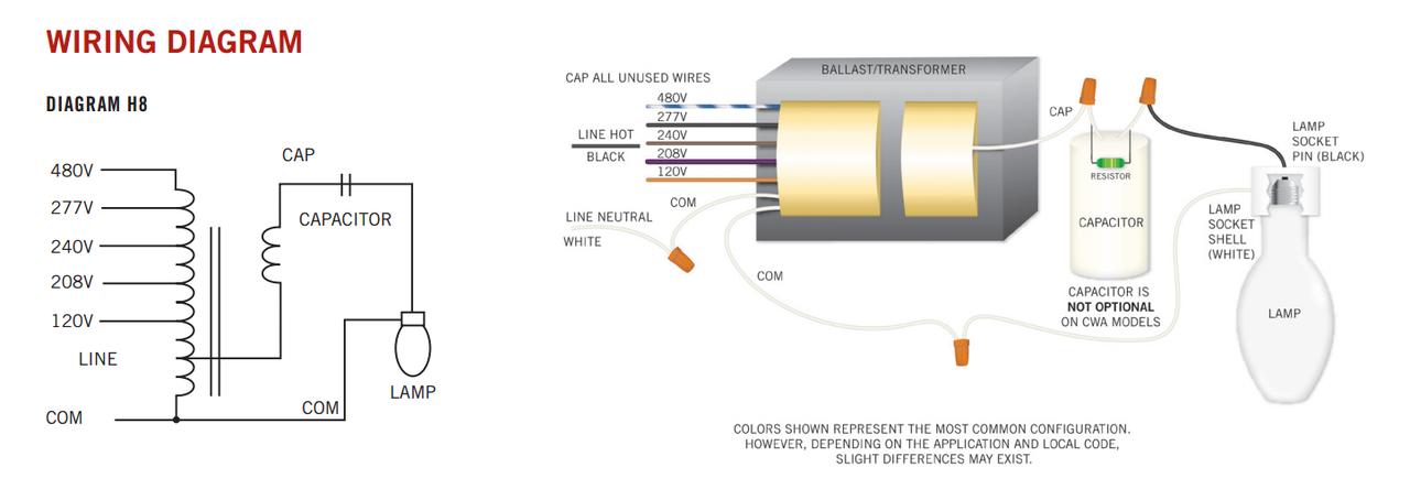 diagram electrical wiring diagrams 480v metal halide 150w