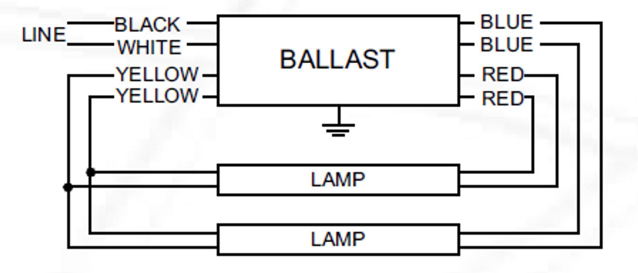 asb 0412 12 bl tp advance magnetic sign ballast Triad Ballast Wiring Diagram