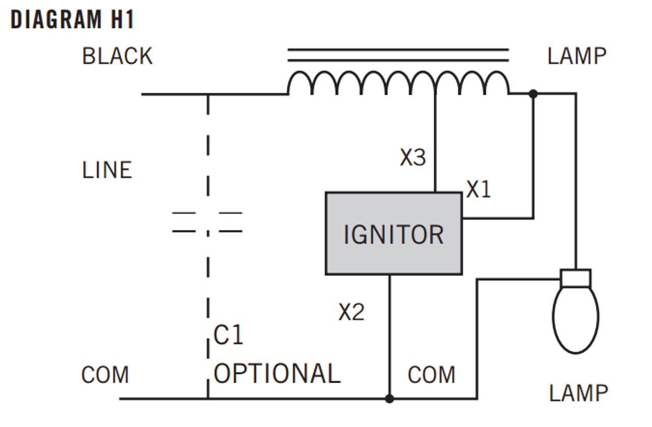 HPS-70R-1-KIT Keystone HPS KitBallastShop.com