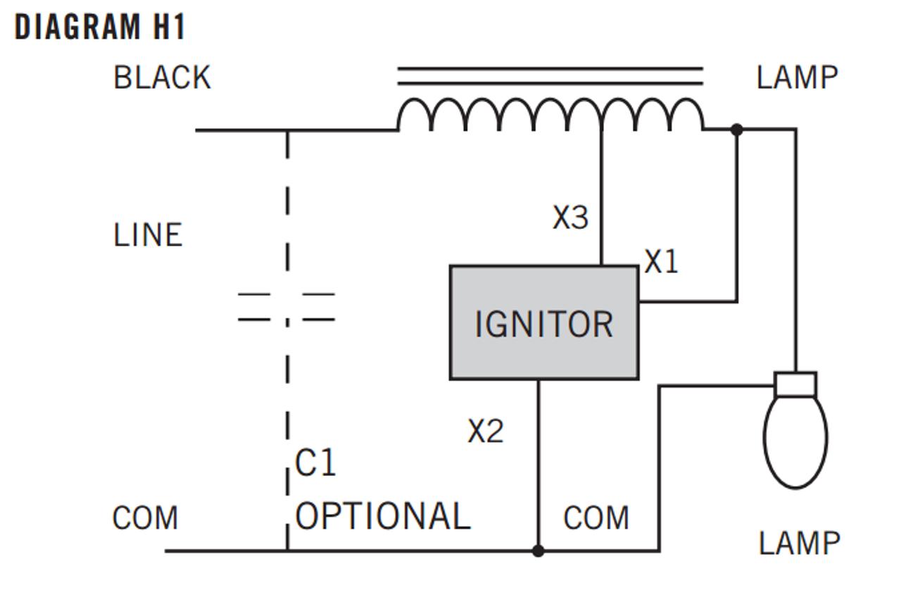HPS-70R-1-KIT Keystone HPS Kit on