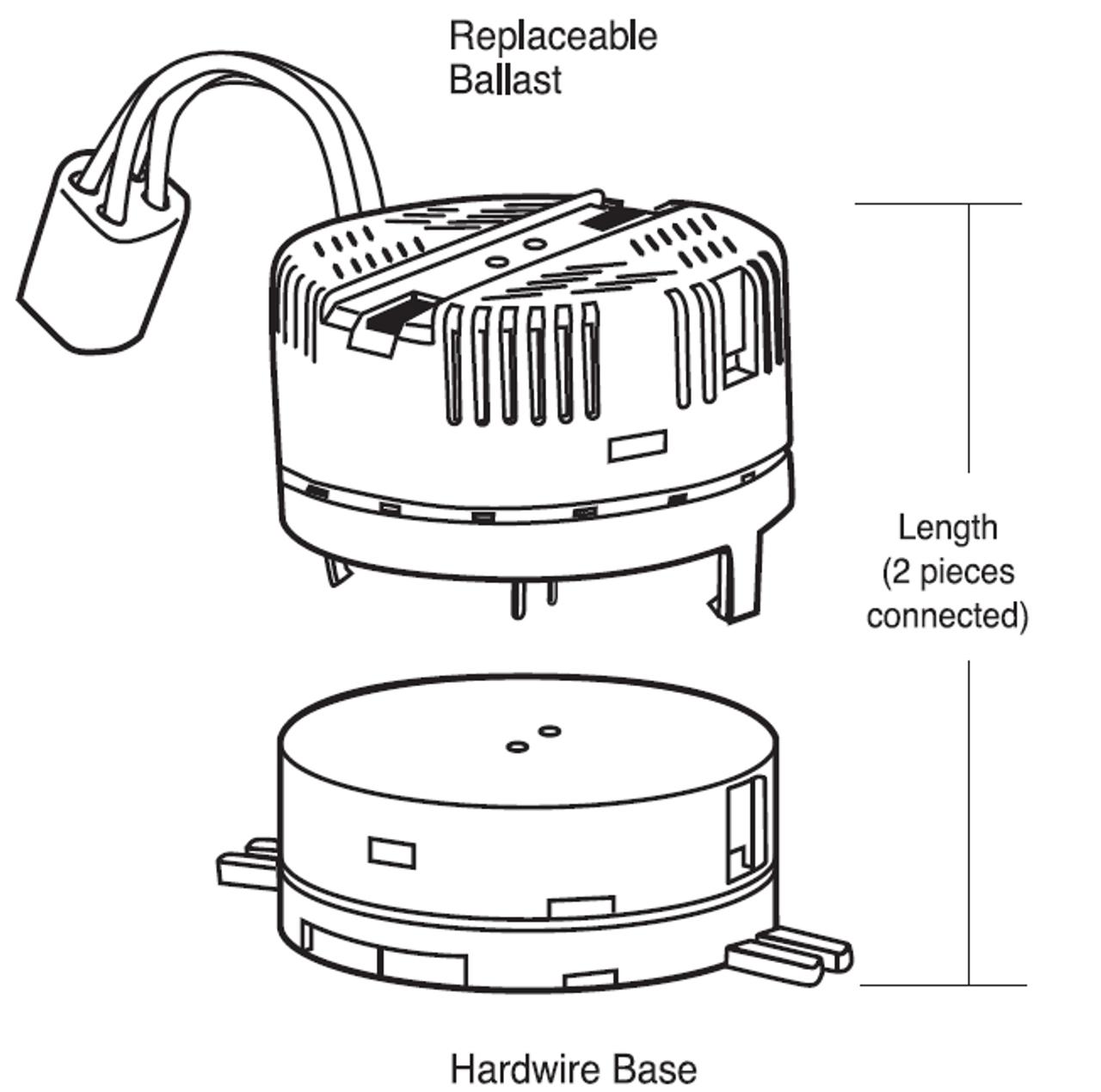 17058hw Tcp 58w Circline Lamp Ballast