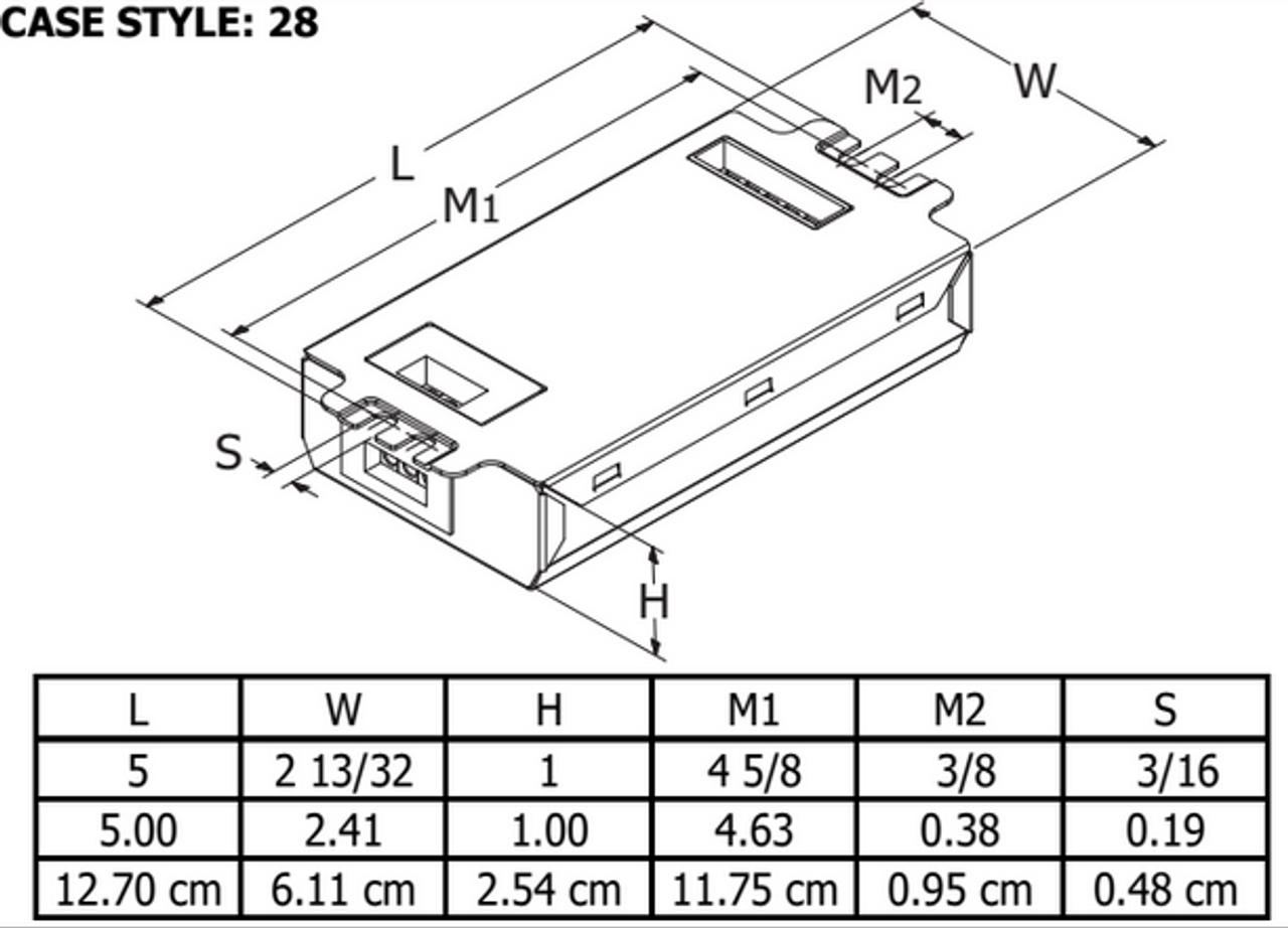 Hatch Transformer HC226PS//UV//D CFL 1 or 2 Lamp Ballast ProgramStart 120-277V