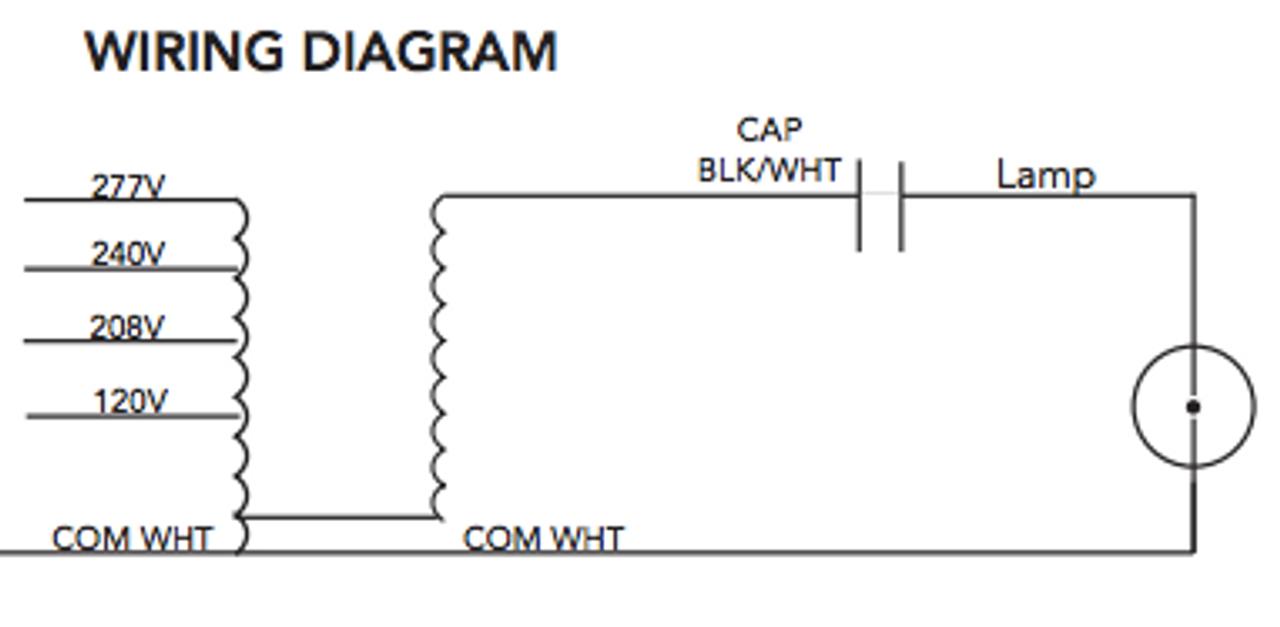 M-250-4T-CWA-K Howard Metal Halide Ballast Kit