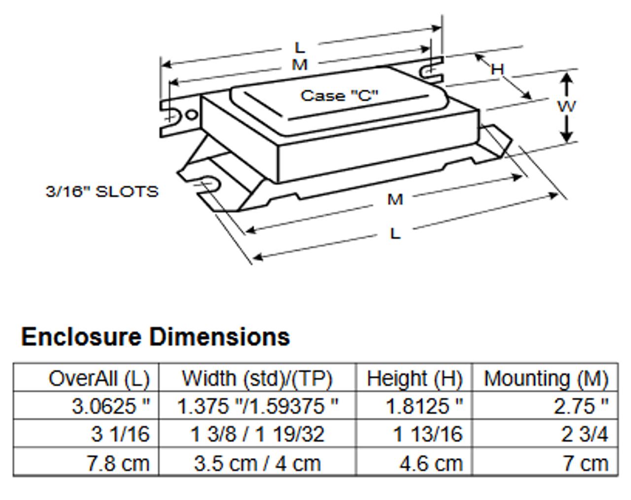 lc-14-20-c advance dimensions