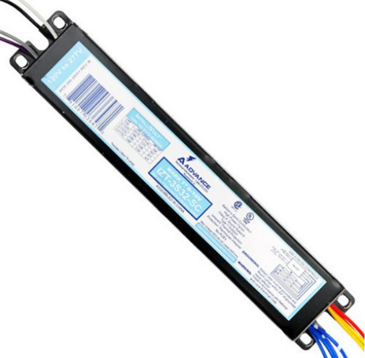 Replacement For Izt-3s32-sc Izt-3s32-scm Electronic Dimming Ballast 3 T8 Lamps Voltage 120//277 Ballast By Technical Precision