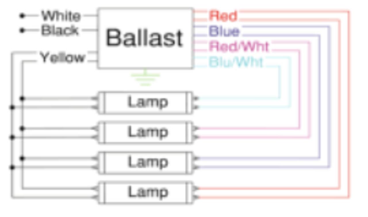 Isl432t8hemv Ah Robertson Electronic Fluorescent Ballast