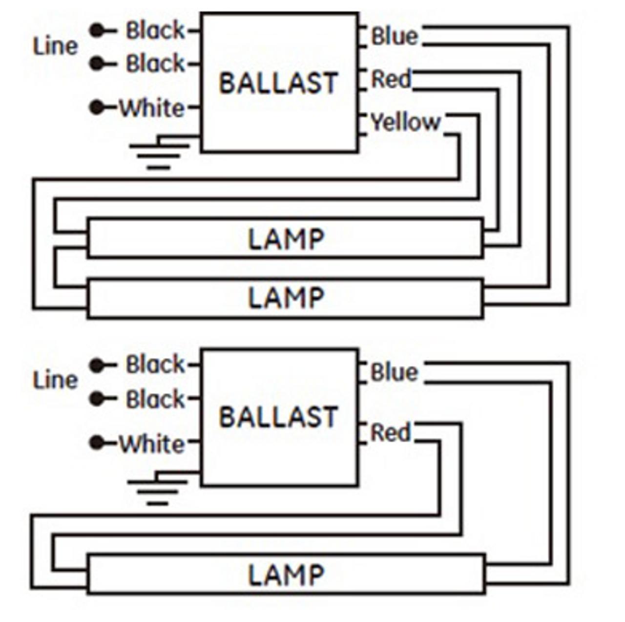 GE224MVPS-S35 GE 90904 | Step Dimming Ballast | Ge Stepped Dimming Ballast Wiring Diagram |  | BallastShop.com