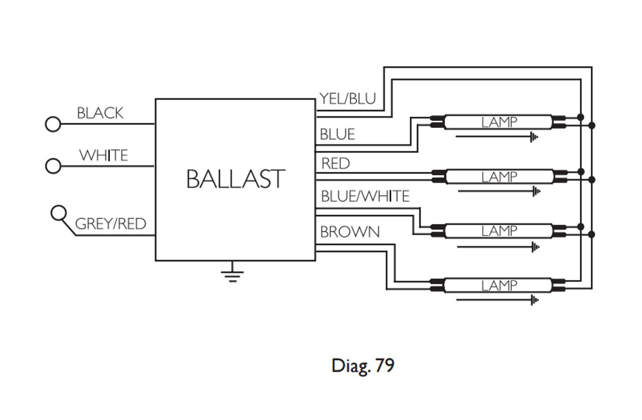 Icrp 4psp54 90c Advance Optanium Electronic Ballast