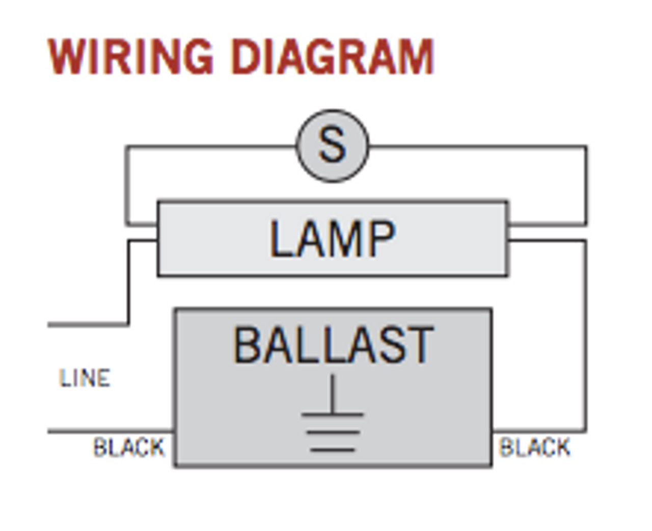 Wiring Diagram For 2 Lamp Ballast