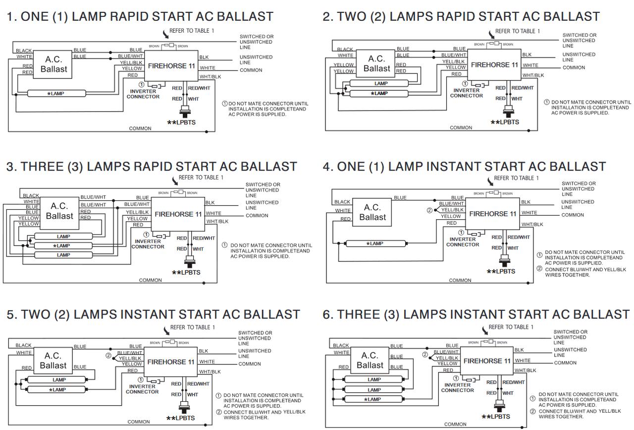 fh11 unv 750l cec fulham firehorse emergency ballast  fulham workhorse 6 wiring diagram #6