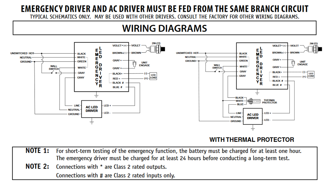 philips bodine bsl10lst cold-pak compact led emergency driver on bodine  electric gear motor diagram bodine electric motor wiring