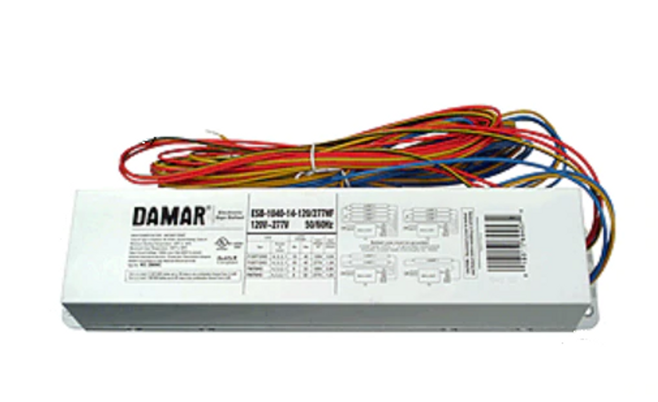 ESB-1040-14-120/277 (28696C) Damar Electronic Sign Ballast