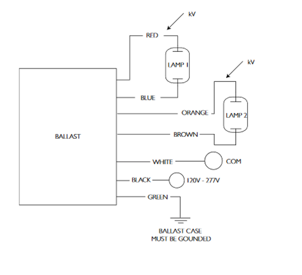 light metal halide ballast wiring schematic imh 239 a bls advance 39w electronic metal halide ballast  advance 39w electronic metal halide ballast