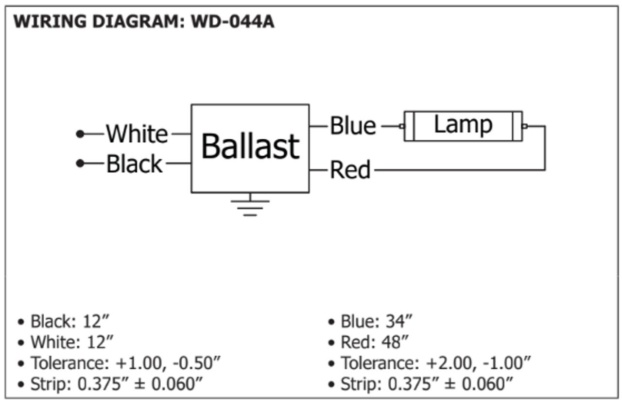 REI164G6MV Robertson UV Germicidal Ballast on