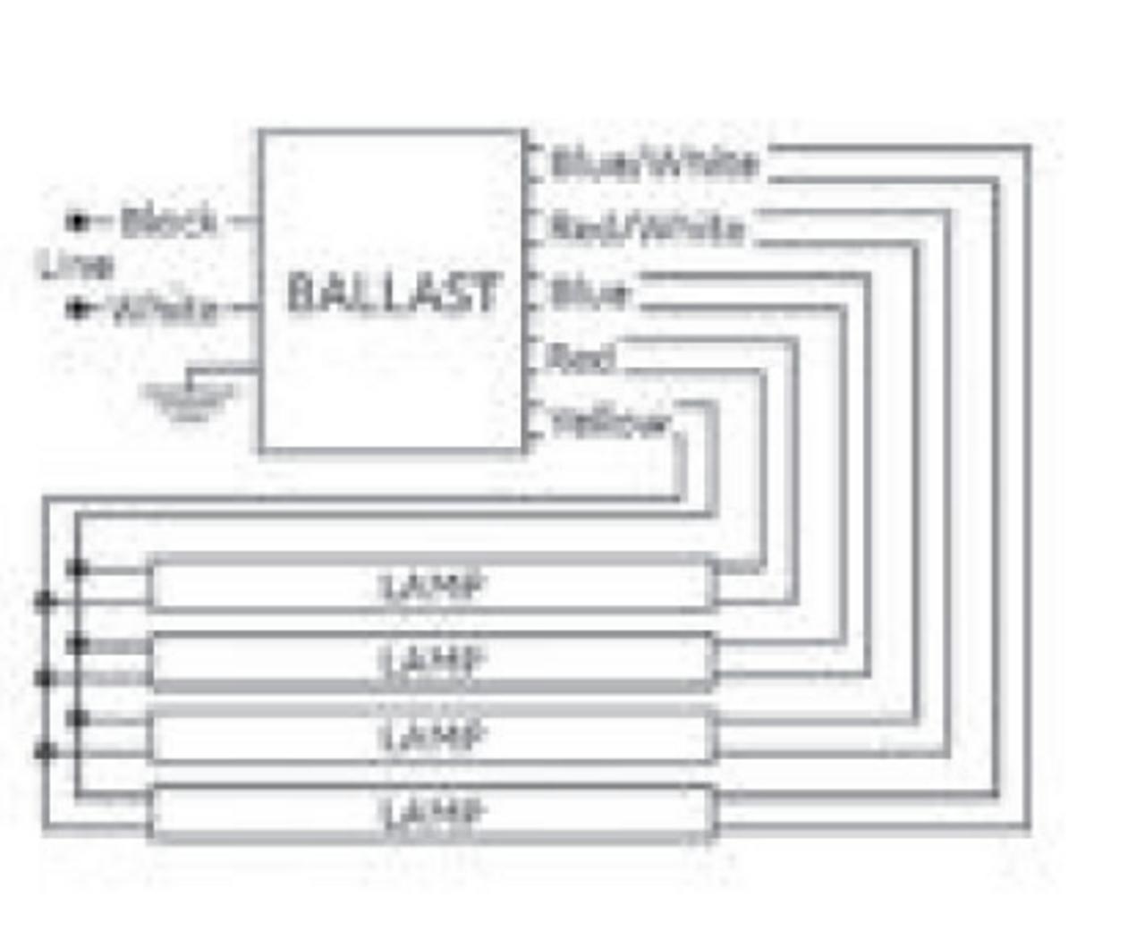 Ge454mvps90 F Ge 67566 Ultrastart T5 Electronic Ballast