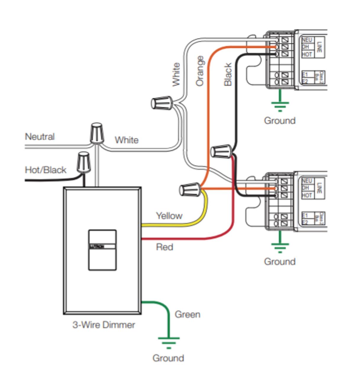 H3DT528CU110 Lutron Hi-Lume 3D Dimming Ballast | Ge Dimming Ballast Wiring Diagram |  | BallastShop.com