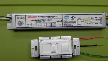 PES120DET8-DM Dimming Ballast With Control Unit