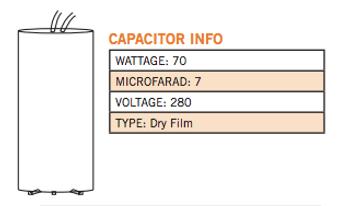 CAP-70HPS Info