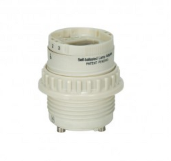 Self-Ballasted CFL Lamp-holder with Threaded Ring
