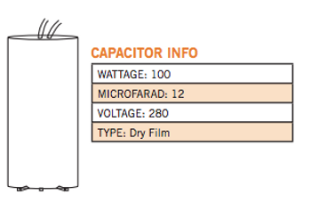 CAP-100MH Information