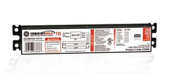 GE286MAX-HO-N (63888) GE ProLine Ballasts