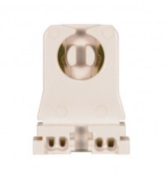 Satco 80-1254 T8/T12 Medium Bi-Pin Unshunted Socket