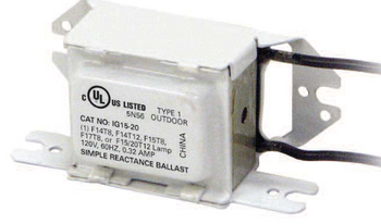 2 LAMP 120V UNIVERSAL B260I120RH ELECTRONIC FLUORESCENT BALLAST 96W T12