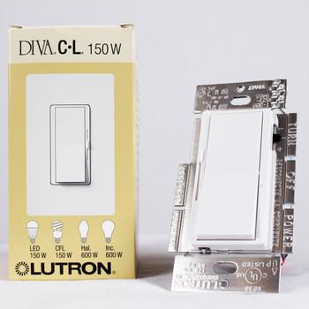 Lutron DVCL-153P-WH