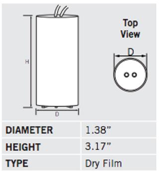 CAP-70MH Dimensions