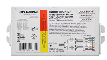 Sylvania QTP2x26CF/UNV-DM 51833