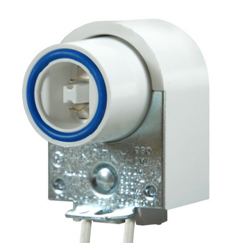 High Output D Tombstone Sign Socket - Spring
