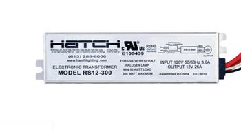 RS12-300 Hatch 300W 12V Transformer