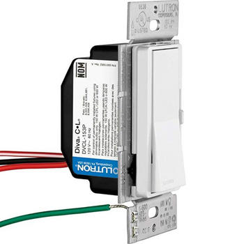 Lutron DVCL-153P-WH Dimmer
