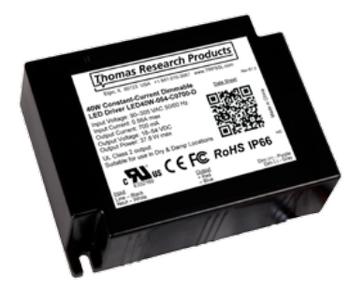 TRP LED40W-114-C0350-D