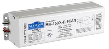 MH-150X-D-FCAN Keystone 150W F-can Metal Halide Ballast