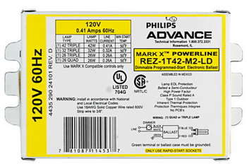 REZ-1T42-M2-BS Advance MARK 10 Powerline