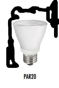TCP 10W PAR20 LED Lamps