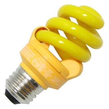 TCP 48909Y Yellow Bug 9 Watt SpringLamp